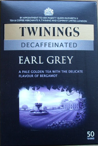 Twinings Decaffeineted Earl Grey